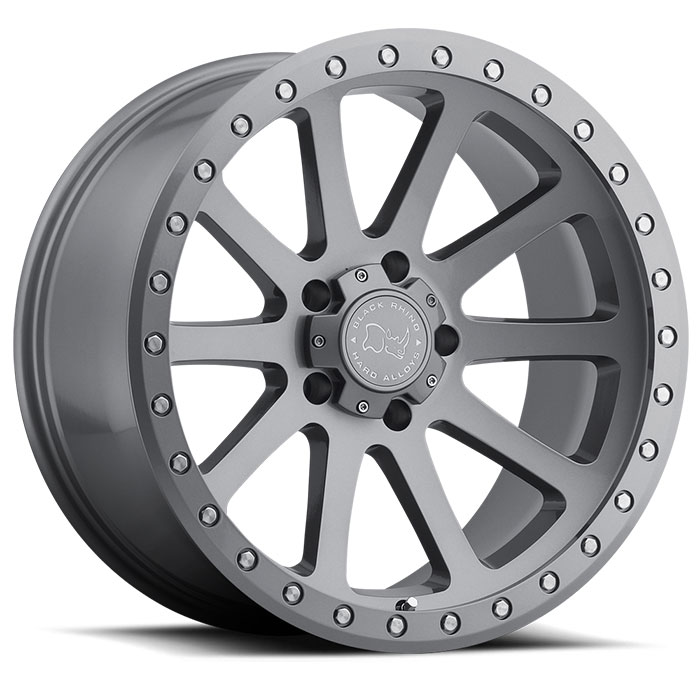 Wheel, Black Rhino Mint - 18x9 +12MM Gloss Graphite
