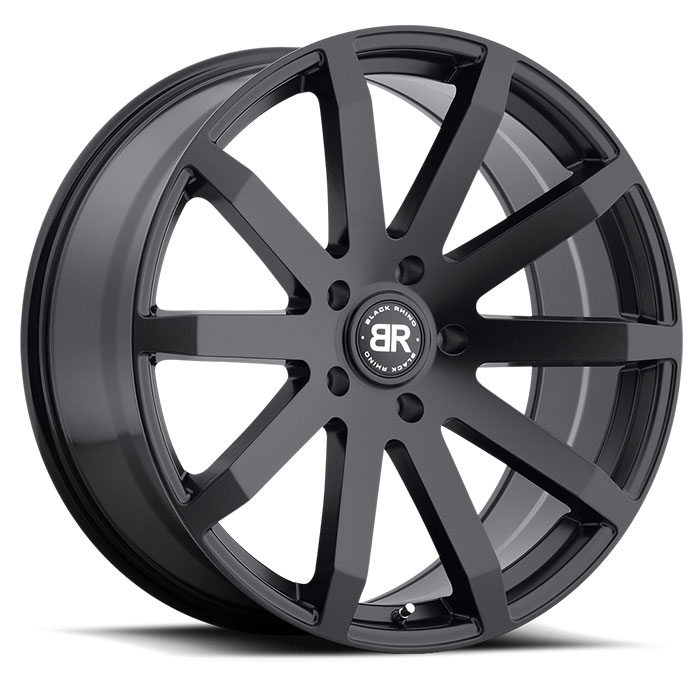Wheel, Black Rhino Traverse - 22x9.5 +12MM Matte Black
