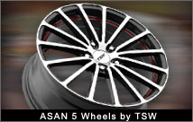 Asan 5 Wheels by TSW