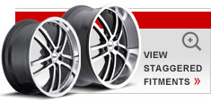 Staggered Alloy Wheels by TSW – the Cadwell