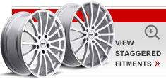 Staggered Alloy Wheels by TSW – the Mallory 5