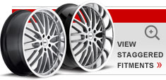 Staggered Alloy Wheels by TSW – the Snetterton
