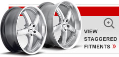 Staggered Alloy Wheels by TSW – the Stowe