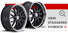 Staggered Alloy Wheels by TSW – the Tremblant