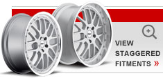 Staggered Alloy Wheels by TSW – the Valencia