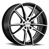 TSW P0A Alloy Wheels Gloss Black w/Machine Cut Face