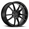 TSW P0A Alloy Wheels Matte Black