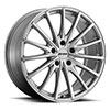 TSW P3A Alloy Wheels Silver w/Machine Cut Face