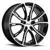 TSW P5A Alloy Wheels Gloss Black w/Machine Cut Face