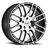 TSW P6A Alloy Wheels Gloss Black w/Machine Cut Face