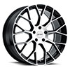 TSW P2B Alloy Wheels Gloss Black with Machine Face