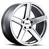 TSW Ascent Alloy Wheels Matte Titanium Silver