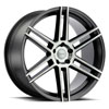 TSW Autograph Alloy Wheels Semi-Gloss Black w/Mirror Cut Face and Translucent Clear