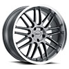 TSW Avalon Alloy Wheels Gunmetal w/ Brushed Gunmetal Face & Machined Lip