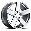 TSW Bristol Alloy Wheels Silver w/Mirror Cut Face