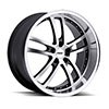 TSW Cadwell Alloy Wheels Gunmetal w/ Mirror Cut Face &, Lip
