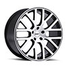 TSW Donington Alloy Wheels Gunmetal w/ Machined Cut Face & Gunmetal Stripe
