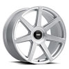 TSW Evo-T Alloy Wheels Silver w/ Brushed Face