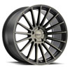 TSW Luco Alloy Wheels Matte Black w/ Machine Face & Dark Tint