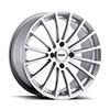 TSW Mallory 4 Alloy Wheels Hyper Silver Mirror Cut Face