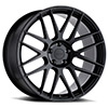 TSW Nord Alloy Wheels Semi Gloss Black