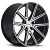 TSW Rouge Alloy Wheels Gunmetal w/ Mirror Cut Face