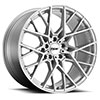 TSW Sebring Alloy Wheels Silver w/Mirror Cut Face