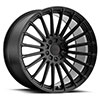 TSW Turbina Alloy Wheels Matte Black