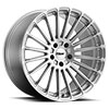 TSW Turbina Alloy Wheels Titanium Silver w/Mirror Cut Face