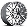 TSW Vale Alloy Wheels Silver with Mirror Cut Face
