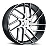 TSW Juggernaut Alloy Wheels Gloss Black w/ Machined Face