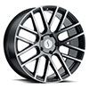 TSW Rogue Alloy Wheels Matte Black w/ Tinted Machined Face
