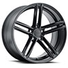 TSW Chapelle Alloy Wheels Matte Black