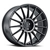 TSW Paddock Alloy Wheels Semi Gloss Black w/ Machined Tinted Ring