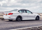 Spartan Black Beyern Wheels on a BMW 5 Series 1