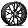 TSW Antler Alloy Wheels Matte Black w/Gloss Black Face