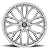 Antler Silver w/Mirror Cut face