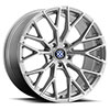 TSW Antler Alloy Wheels Silver w/Mirror Cut face
