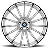 Aviatic Silver w/Mirror Cut Face