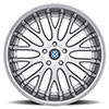 Munich Silver w/ Machined Face & Chrome Lip