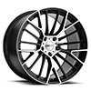 TSW Astoria Alloy Wheels Gloss Black w/mirror Cut Face