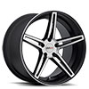TSW Brickyard Alloy Wheels Matte Black w/ Matte Machine Face