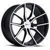 TSW Spider Alloy Wheels Gloss Black w/Mirror Cut Face