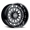 TSW Centurion Forged Alloy Wheels Gloss Black w/ Milled Spokes