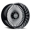TSW Horus Forged Alloy Wheels Gloss Black w/ Milled Spokes