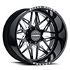 TSW Twister Forged Alloy Wheels Gloss Black w/ Milled Spokes