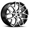 TSW Ashford Alloy Wheels Gloss black w/mirror cut face