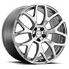 TSW Ashford Alloy Wheels Silver w/mirror machine face