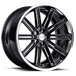 Warwick Black Jaguar Wheels