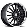 TSW Whitley Alloy Wheels Gloss Black w/ Mirror Cut Lip